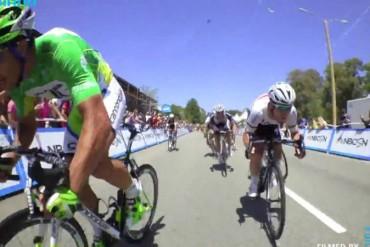 Video de bicicletas imperdible sabes que sucede dentro del peloton al llegar a la meta