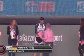 como fue la segunda etapa del giro de italia 2014