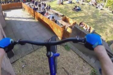 demos un paseo en bicicleta con Danni MacAskill Bicicletas BMX