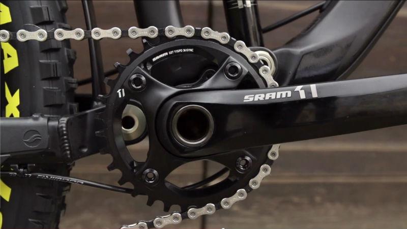 nuevo grupo sram x1 para bicicletas mtb 1 plato 11 pinones