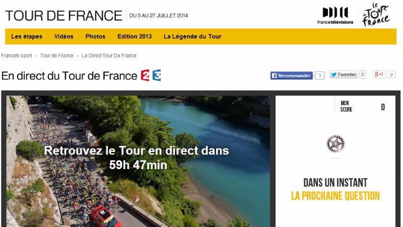 Ver el Tour de France 2014 en vivo por Internet