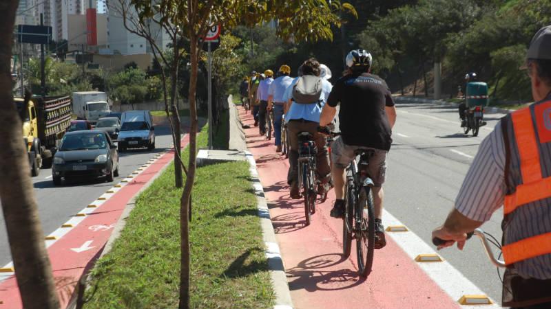 Ciclovias en San Pablo - Haddad - Ciclovias en Brasil