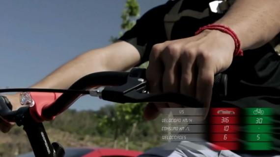 Las bicicletas son mas veloces que los automoviles deportivos