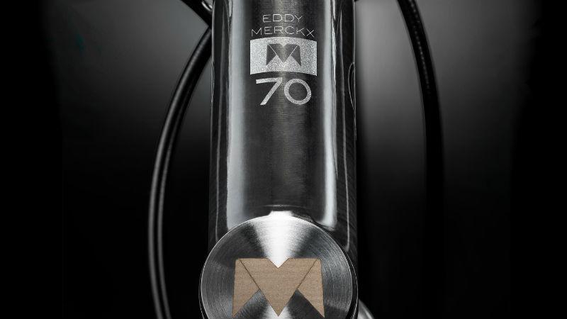 Cockpit EDDY70 Bicicleta en homenaje a Eddy Merckx