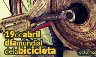 19 de abril de 2015 Hoy es el dia mundial de la bicicleta