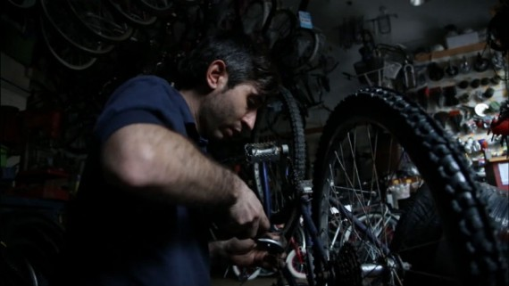 Ezequiel un bicicletero en Buenos Aires Argentina