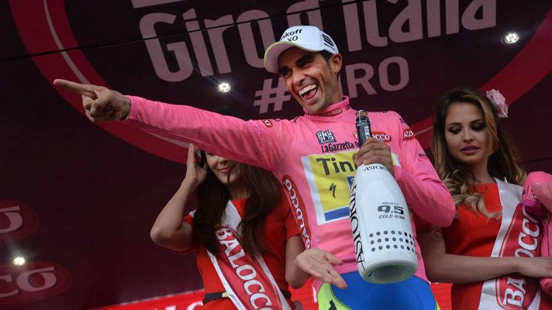 Alberto Contador Maglia Rosa Como fue la etapa 5 del Giro de Italia