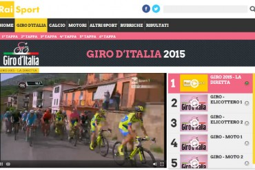 transmision online del Giro d'Italia en vivo gratis