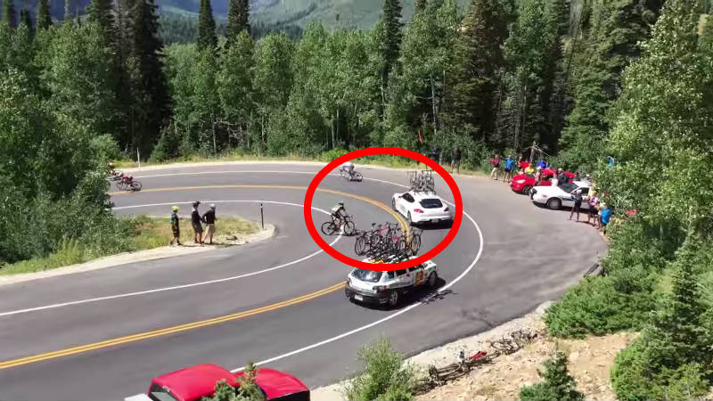 grave accidente tour de utah 2015 usa