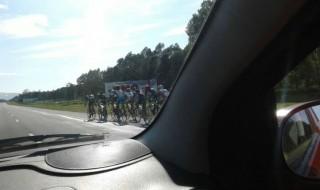 Cuando el automovilista es ciclista uruguayo en facebook