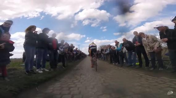 Cámaras a bordo en Paris Roubaix 2016