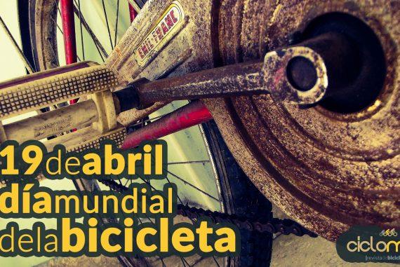 Dia mundial de la bicicleta Bicicletas y Ciclistas celebran