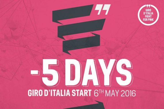 Faltan solo 5 dias para el Giro de Italia 2016