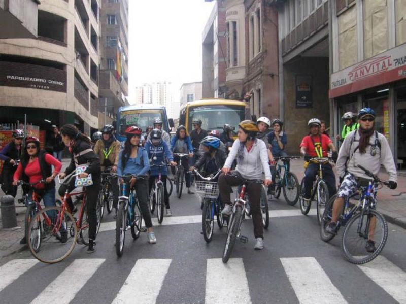 Bicicletas en Colombia - Dia sin Carro 2013 - Revista de Bicicletas - Ciudad