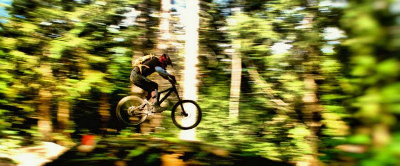 Explora Whistler - Viajes en bicicleta en Canada Salto