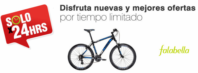 Falabella Comprar bicicleta en Chile - Trek - Ahorrar - Revista de bicicletas CicloMag