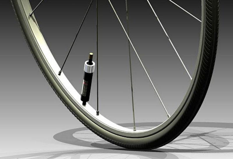 PumpTire - Auto Inflado Componente para Bicicletas - Revista