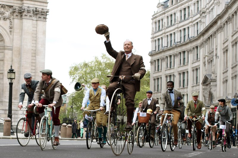 Tweed Run 2012 - Paseo en bicicleta por Londres - Revista de Bicicletas