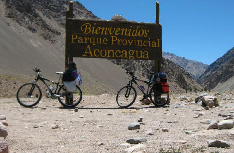 Viajar en Bicicleta - Paseo en Bicicleta - 5 consejos para disfrutar - Aconcagua