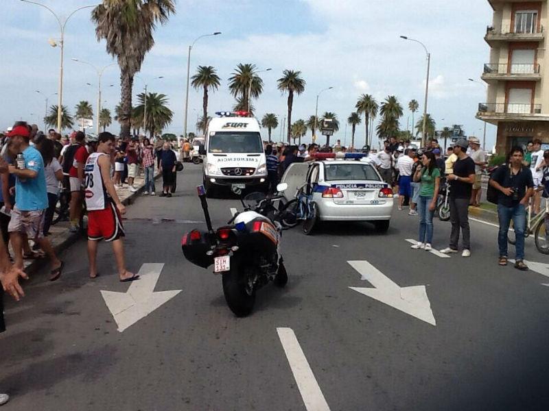 Marcelo Graces - Vuelta Ciclista del Uruguay - Accidente 2