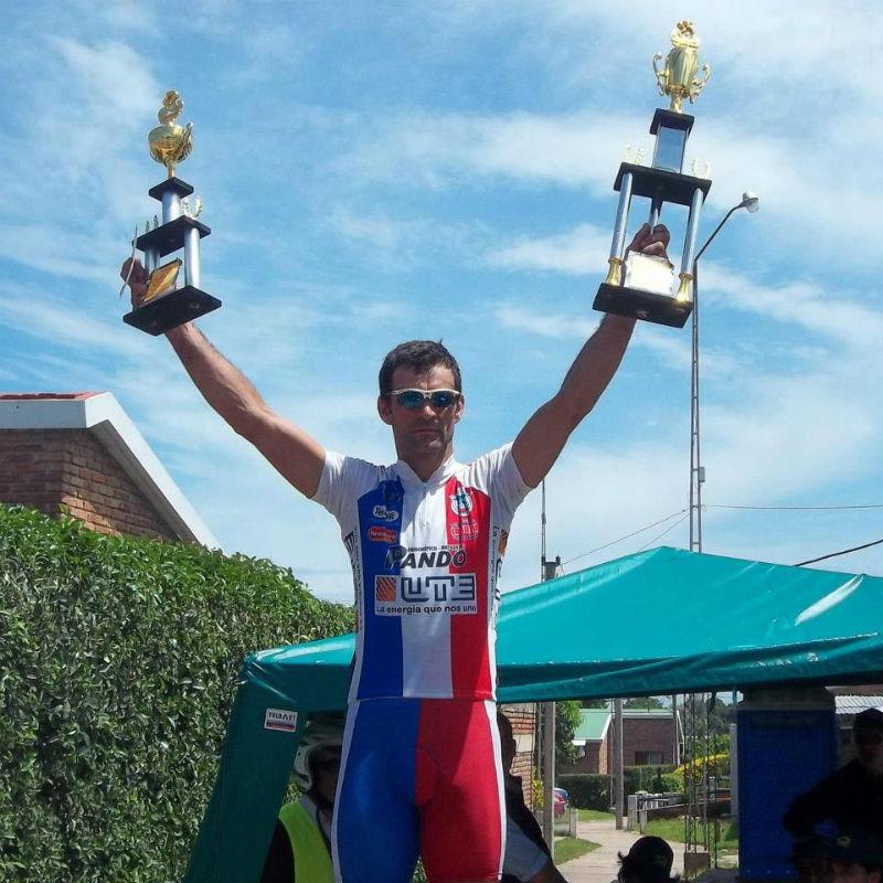 Marcelo Graces - Vuelta Ciclista del Uruguay - Accidente