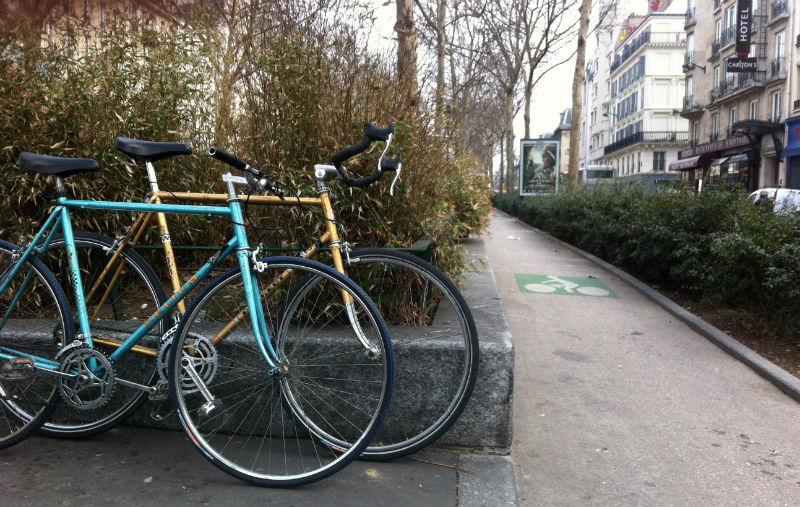Bicicletas en Paris - Cicloturismo y Ciclismo Urbano