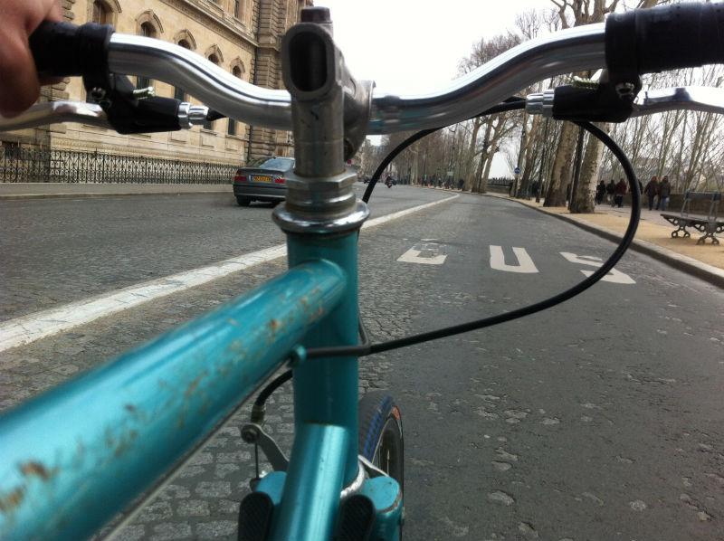 Cicloturismo Urbano - Bicicletas en Paris - Francia