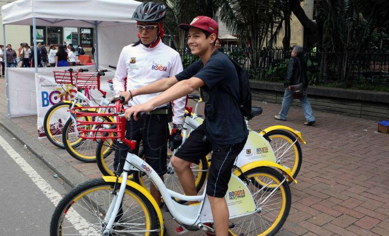 Bicicletas en Bogotá- Bogota Humana - Ciclovías