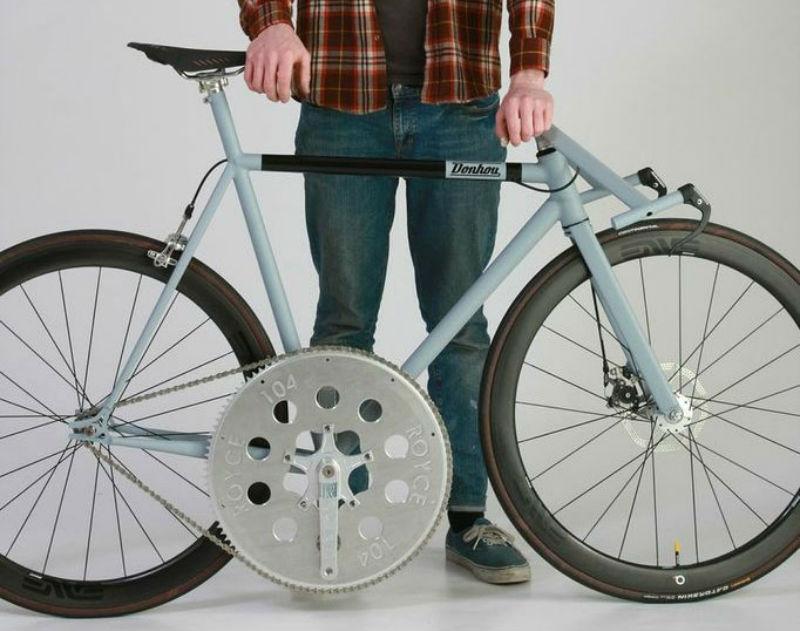 Donhou Bicycles - Bicicleta rápida - Bespoked Bristol 2013 - Plato