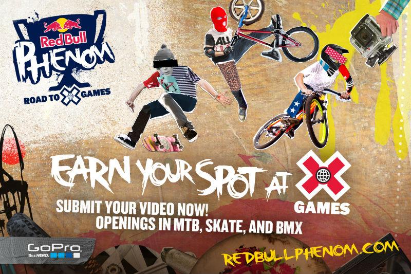 Red Bull Phenom - Participa de los X Games como estrella