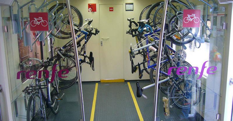 Renfe - Viajar con bicicletas en España