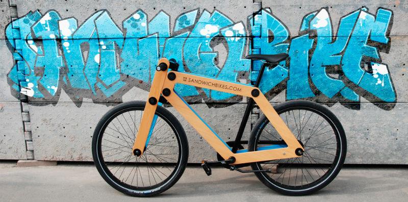 Sandwichbikes - Bicicletas de madera - Exclusivas - Diseño de autor - Urbana