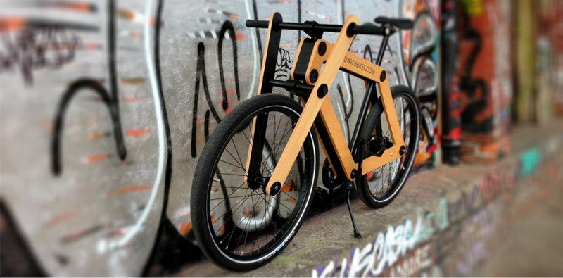 Sandwichbikes - Bicicletas de madera - Exclusivas - Diseño de autor