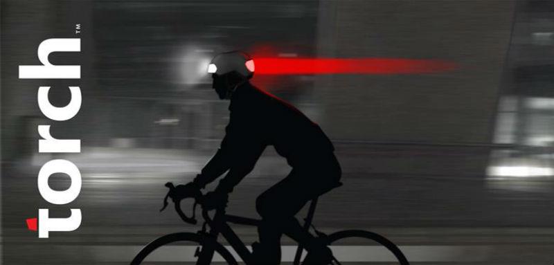 Torch T1 - Casco de bicicletas - Accesorio para bicicletas - Seguridad