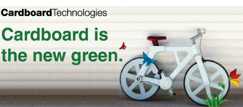Cardboard technologies - Bicicletas ecológicas de cartón - Bicis Verdes