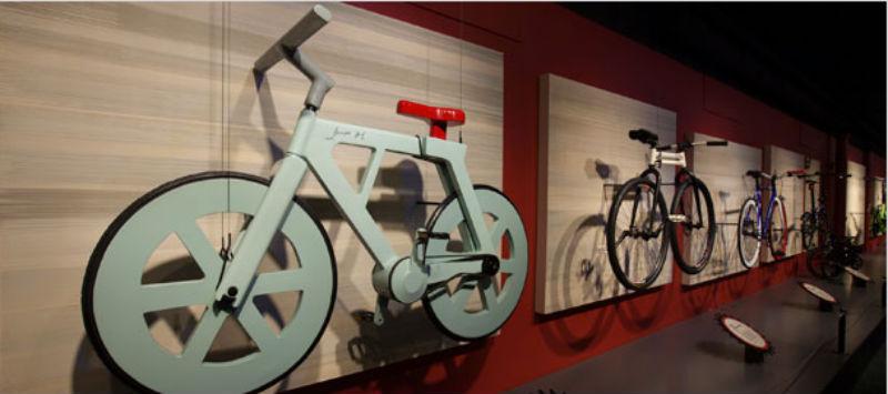 Cardboard technologies - Bicicletas ecológicas de cartón - Bicis