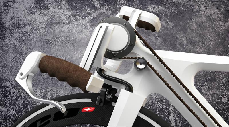 4 Strike Bike - Una bicicleta para pies y manos - Revista de bicicletas CicloMag - Manubrio
