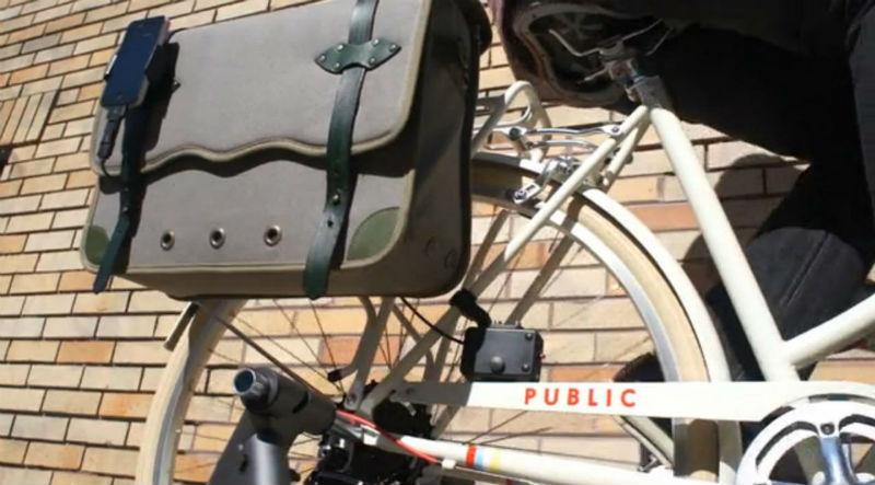 Alforja para bicicletas - Accesorios para bicicletas - Recargar baterías de gadgets