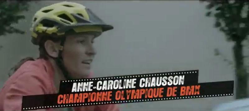 Anne Caroline Chausson - Seguridad en la bicicleta - Ciclistas urbanos