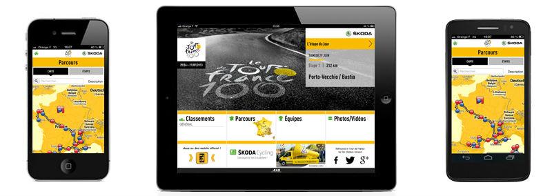 App oficial del Tour de France 2013