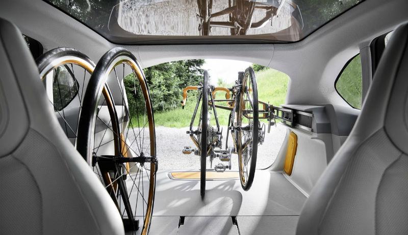 Automóvil para ciclistas - Auto para transportar bicicletas - BMW