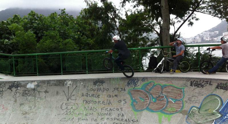 Bicicletas BMX en Rio de Janeiro Brasil - Rodrigo de Freitas
