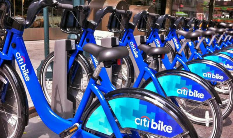 Bicicletas en Nueva York - Campaña electoral Citi