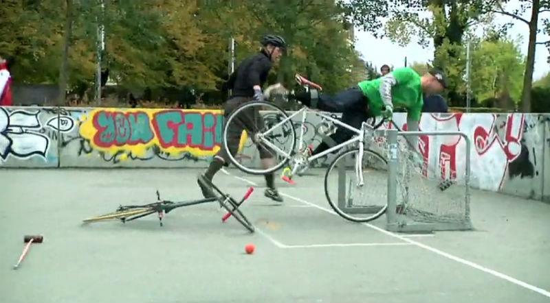 Bike Polo en Dinamarca - Deportes en bicicleta