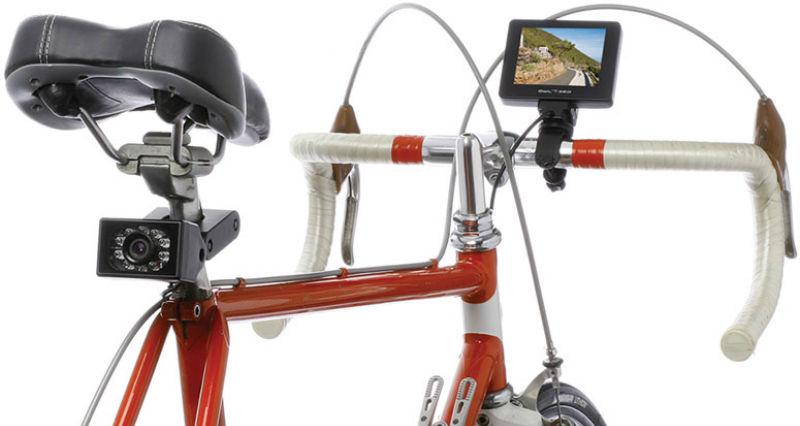 Espejos para bicicletas - Cámaras retrovisores para bicis - Accesorios para bicicletas