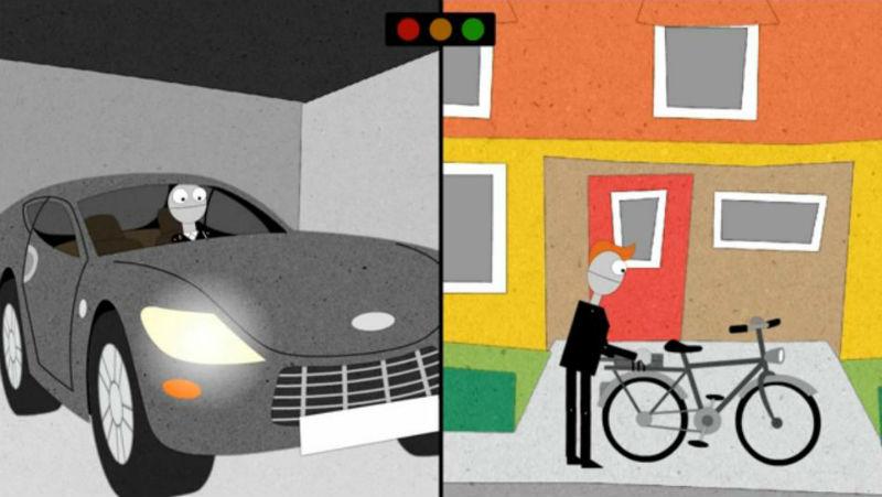 Ir al trabajo en bicicleta - Video de bicicletas - Dinamarca