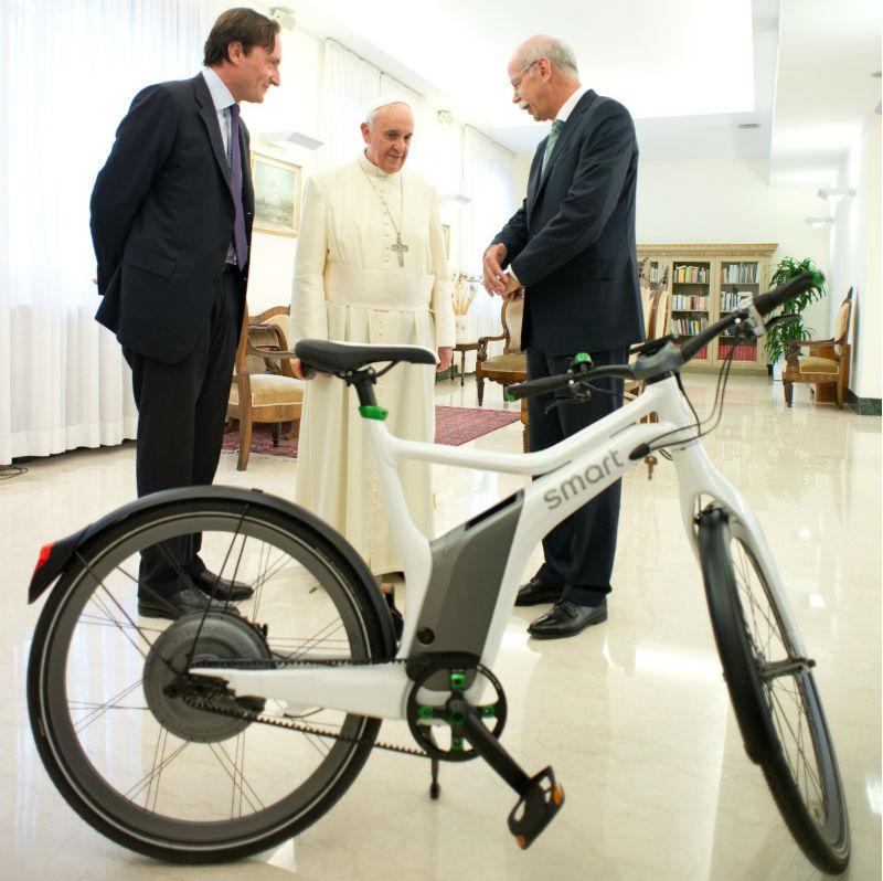 Papacicleta - Bicicleta Eléctrica del Papa Francisco