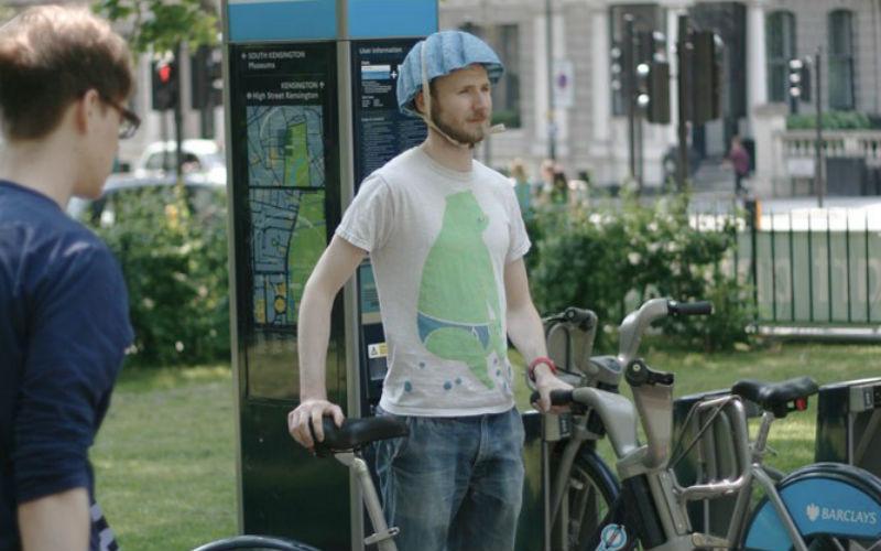Pulp Paper Helmet - Casco para bicicletas de papel Londres