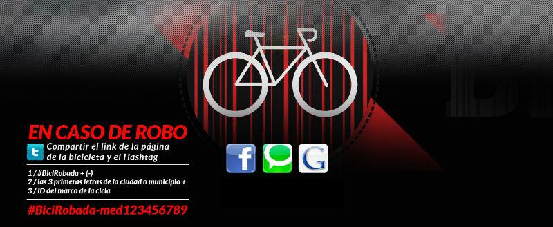 Registro de bicicletas en Colombia - BiciRegistro Gratuito - Robo de bicicletas