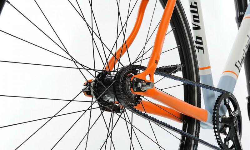 Strassenfeger Electrolyte Es una bicicleta eléctrica sin motor